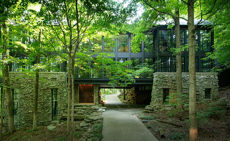 House Of The Week A Glass Treehouse In Nashville