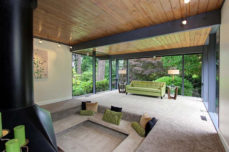 Sunken Living Room 70 S how our homes have changed since the '50s - zillow porchlight
