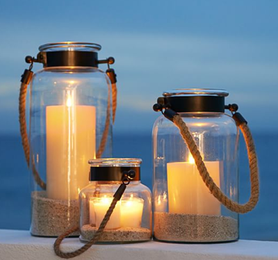 tip 3- Lantern -Pottery Barn