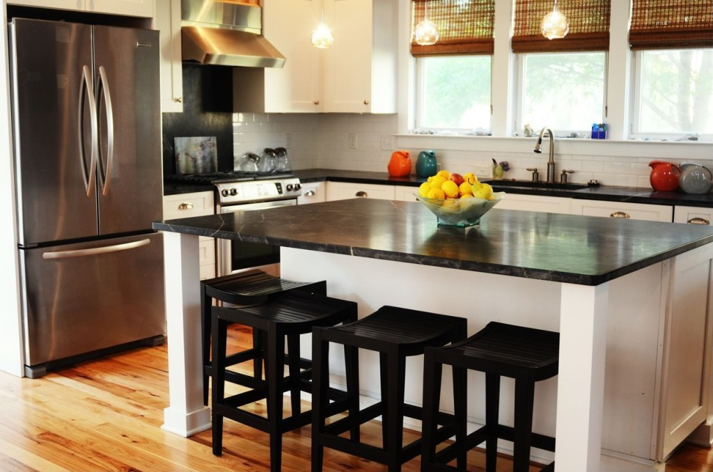 Kitchens 2014 Trends 2014 kitchen trend: dramatic black counters - zillow porchlight