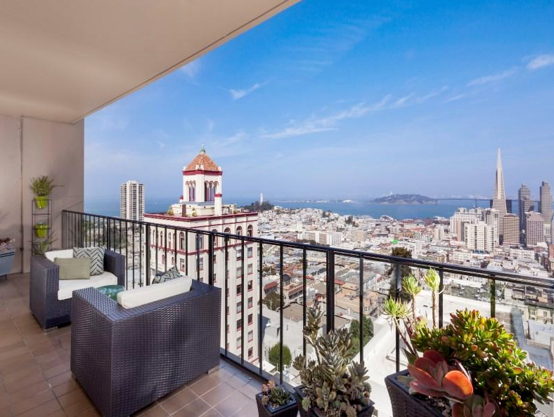 San francisco 39 s most expensive one bedroom sells for 2 3m - Two bedroom apartments san francisco ...