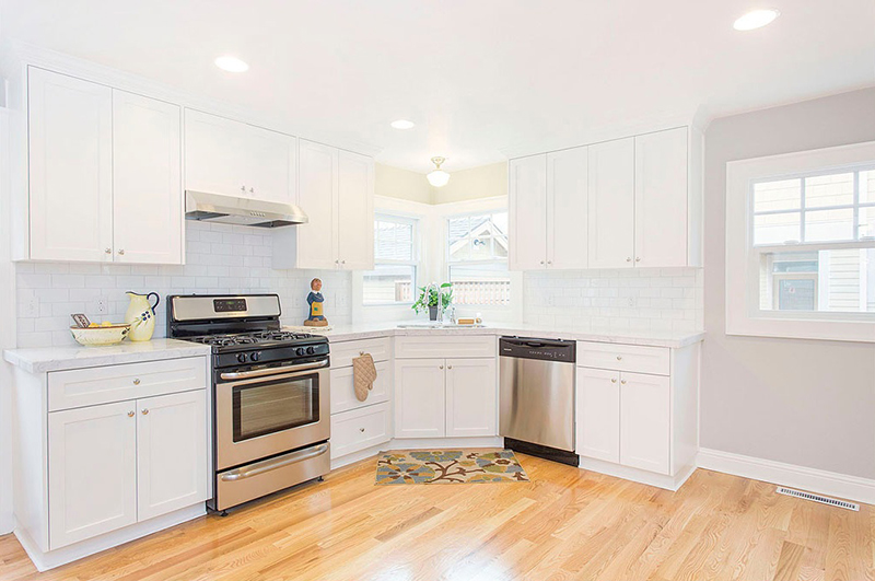 the un-boring all-white kitchen - zillow porchlight