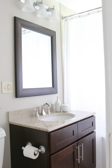 How to hang a heavy mirror easy diy guide zillow digs Hanging bathroom mirrors with frame