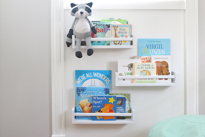 A Quick DIY for Space-Saving Kids' Room Storage