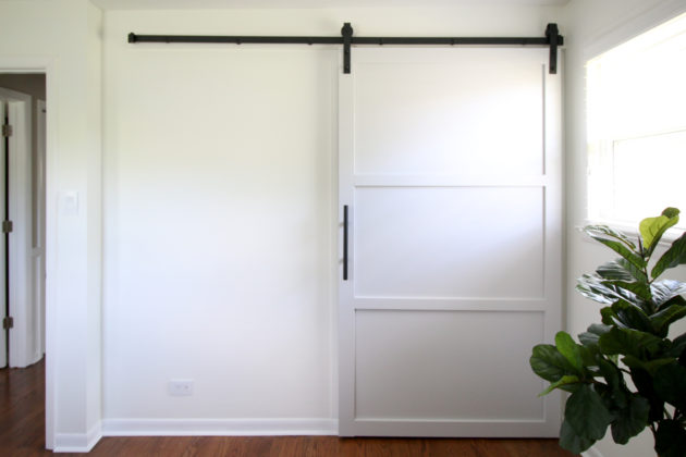 How To Build And Install A Sliding Barn Door Home