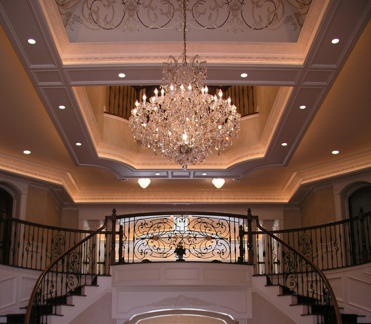 Add elegance with chandelier lighting home improvement for Classic home lighting