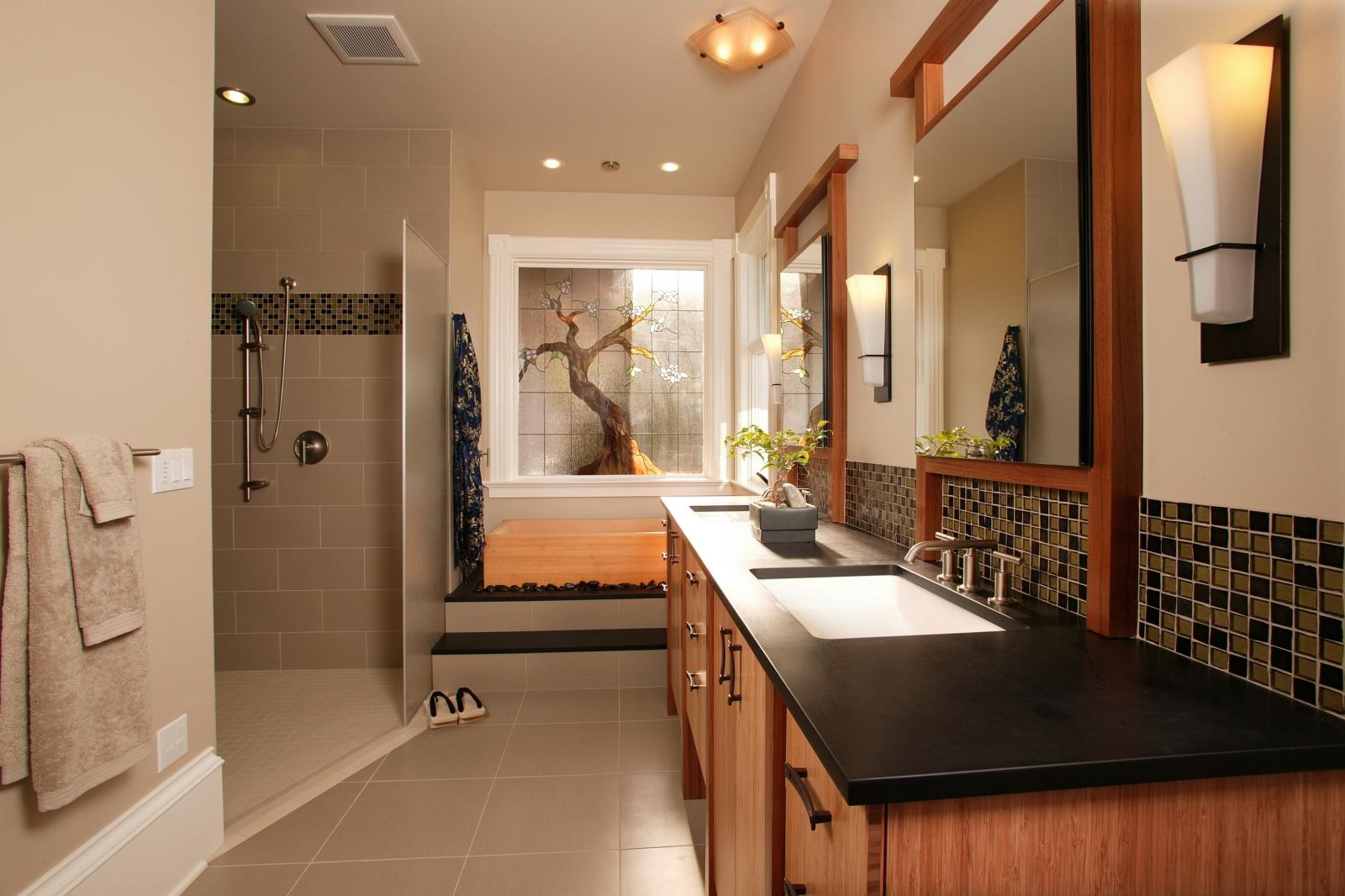 Staycation Japanese Spa Bathroom Makeover Home