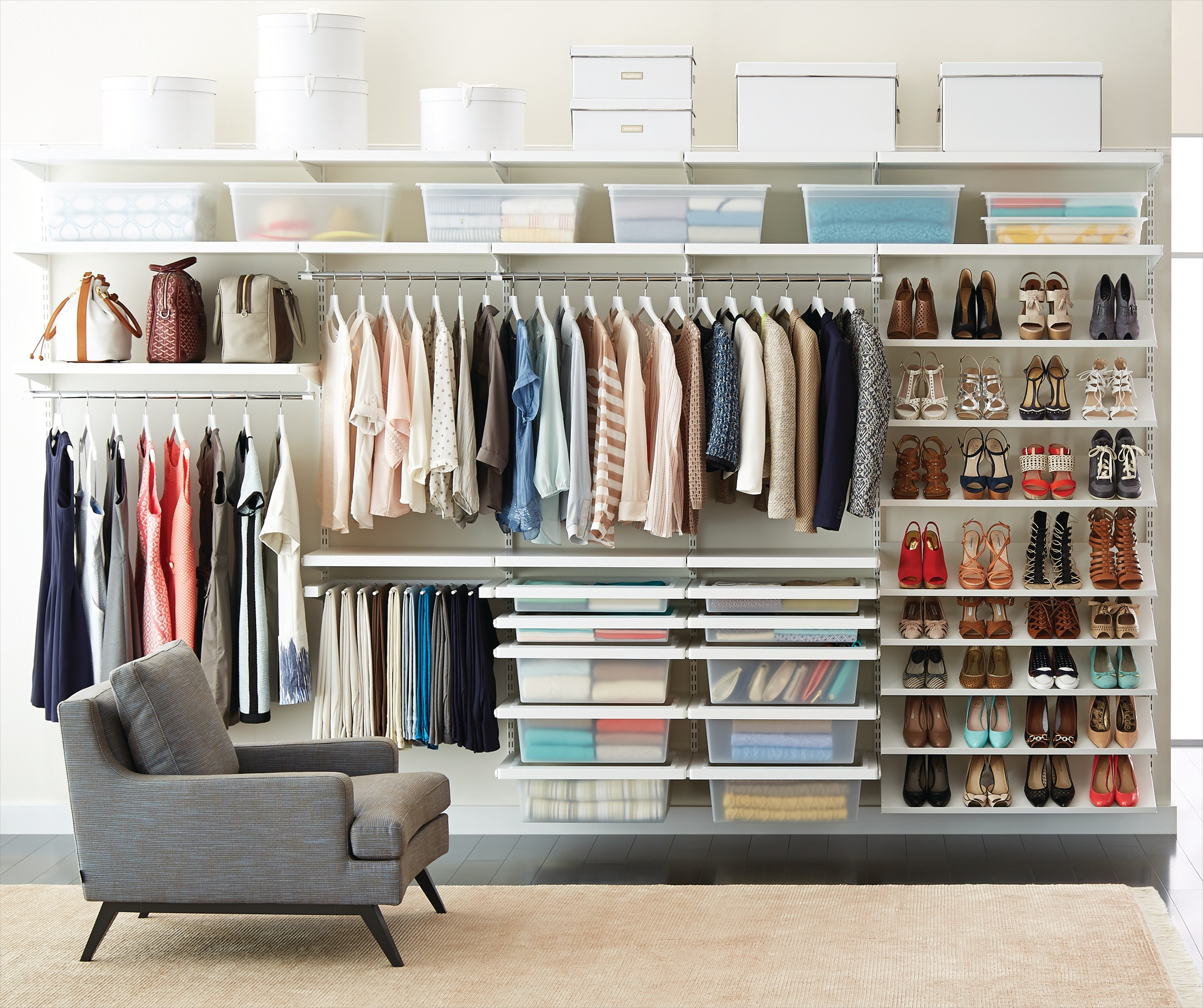 Lighting Ideas For Your Closet: Home Improvement Projects, Tips