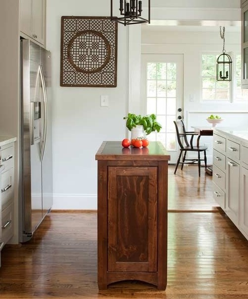 Center your kitchen island and let it shine. Photo via Terracotta Design Build on Zillow Digs.