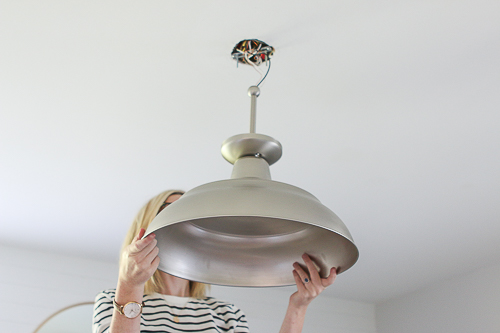 Zillow Installing Light Fixture 7