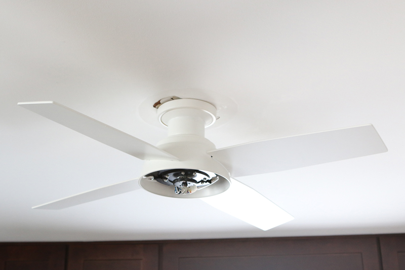 How to replace a ceiling fan take your fan blades and screw them into the canopy following the directions for your particular model we suggest placing a towel beneath the setup in aloadofball Gallery