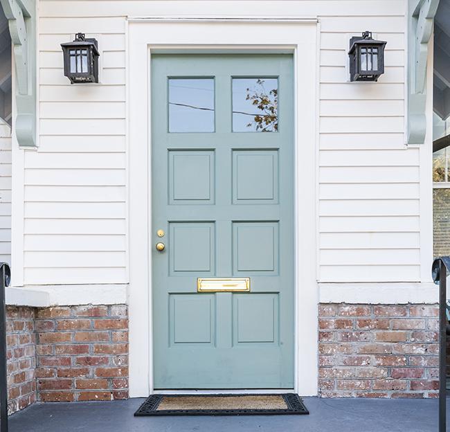 Shaker paneled door