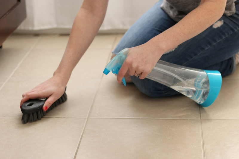 How To Clean Tile Grout Zillow Digs