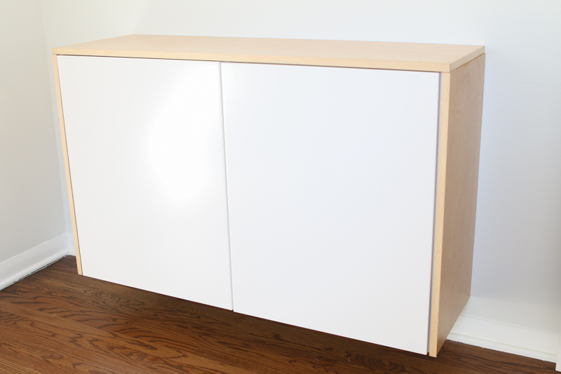 Ikea Faux Credenza : How to build a floating credenza easy diy guide zillow digs