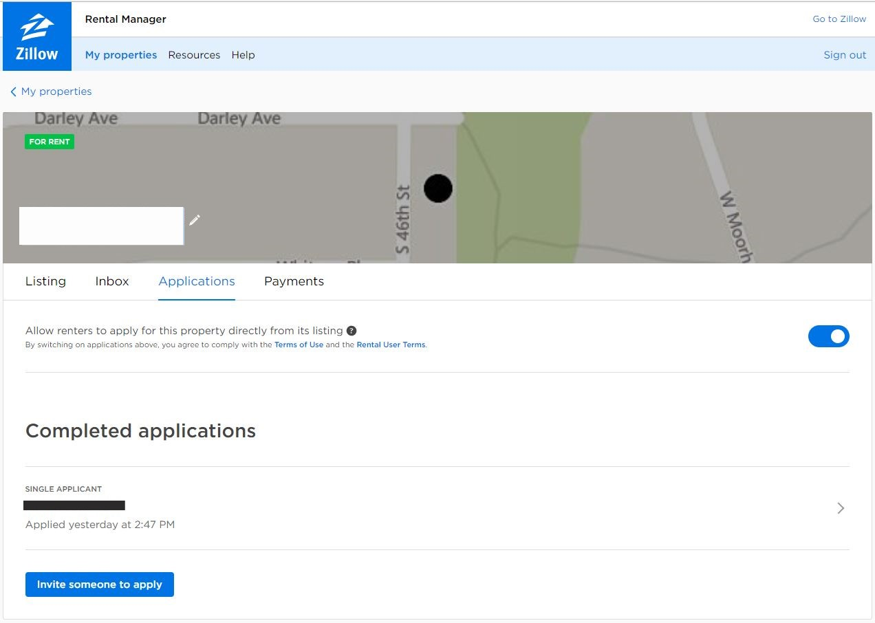 How To Use Zillow Rental Applications