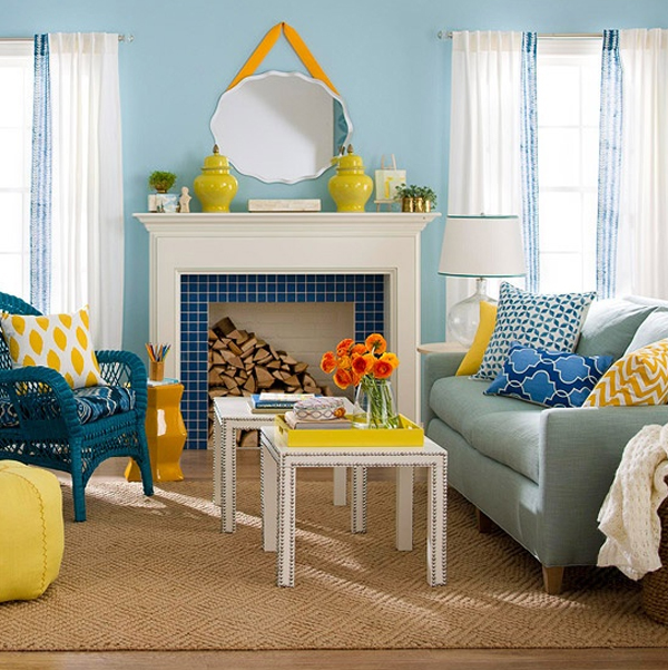 5 Decorating Ideas For A Spring Inspired Apartment   HotPads Blog Design Inspirations