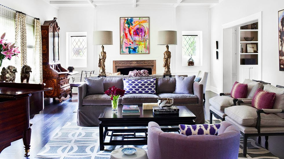 color of the year radiant orchid hotpads blog define your 2015 home decor - Home Decor 2015