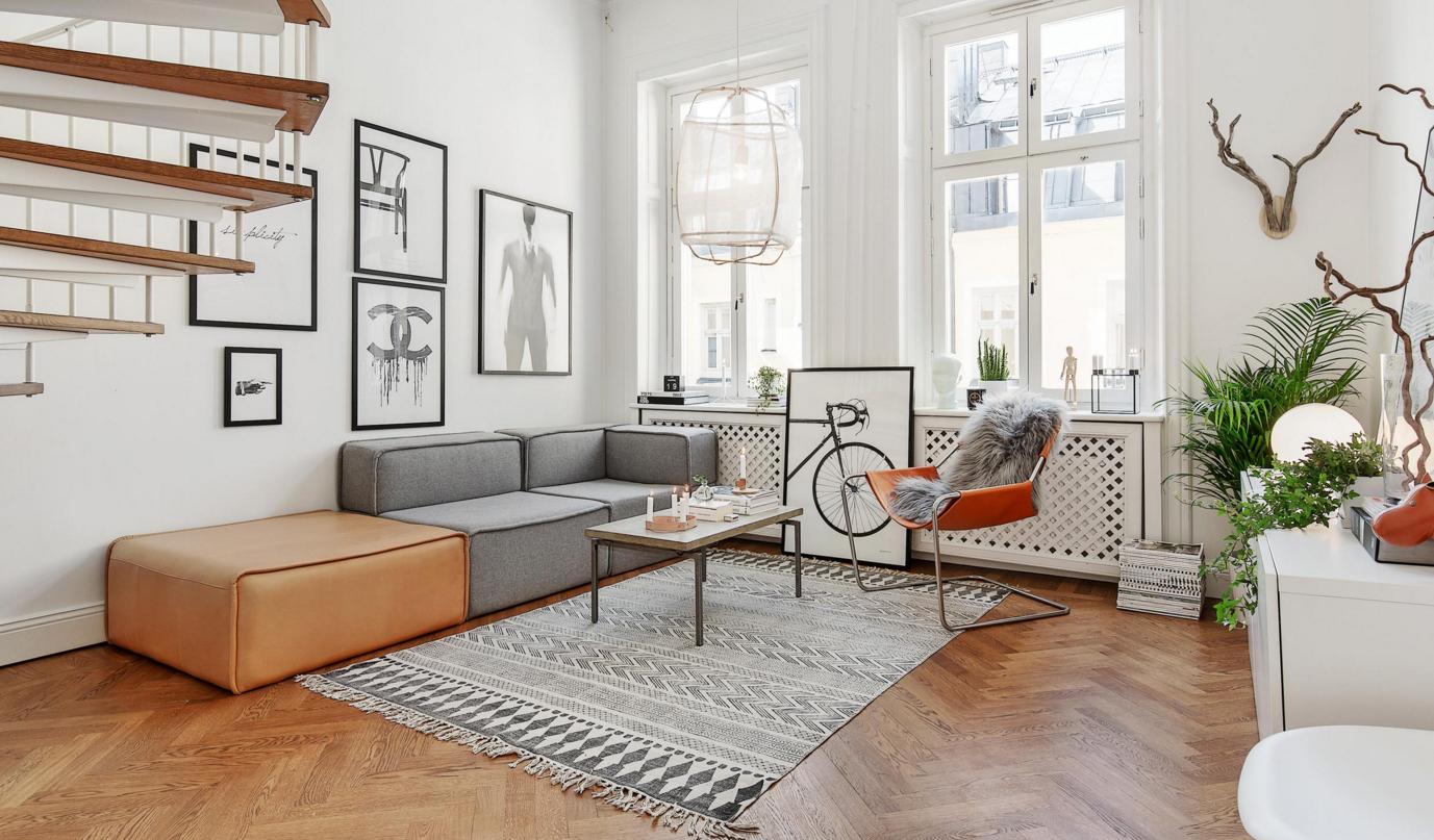 Scandinavian minimalist living room designs hotpads blog for Minimalist living blog