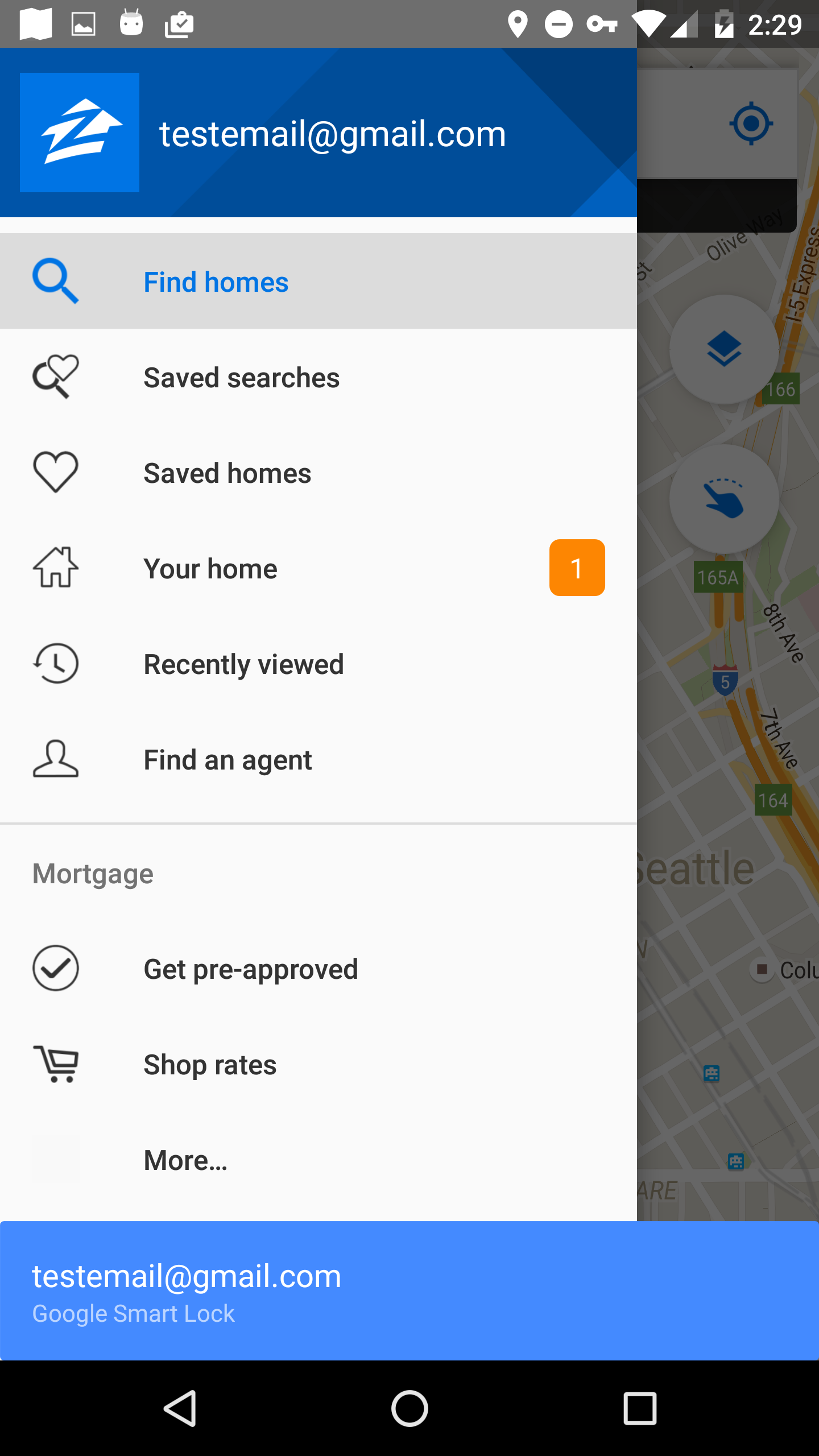 Implementing Smart Lock For Passwords In The Zillow