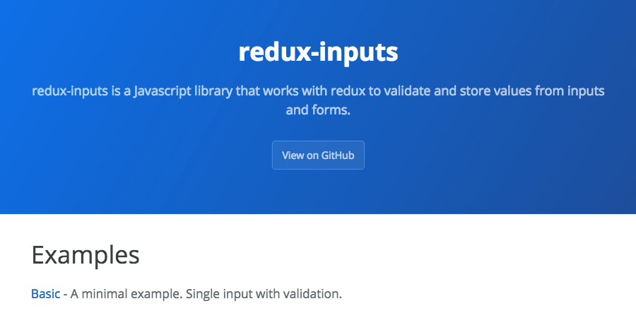 redux-inputs: A library for taming forms in React - Zillow