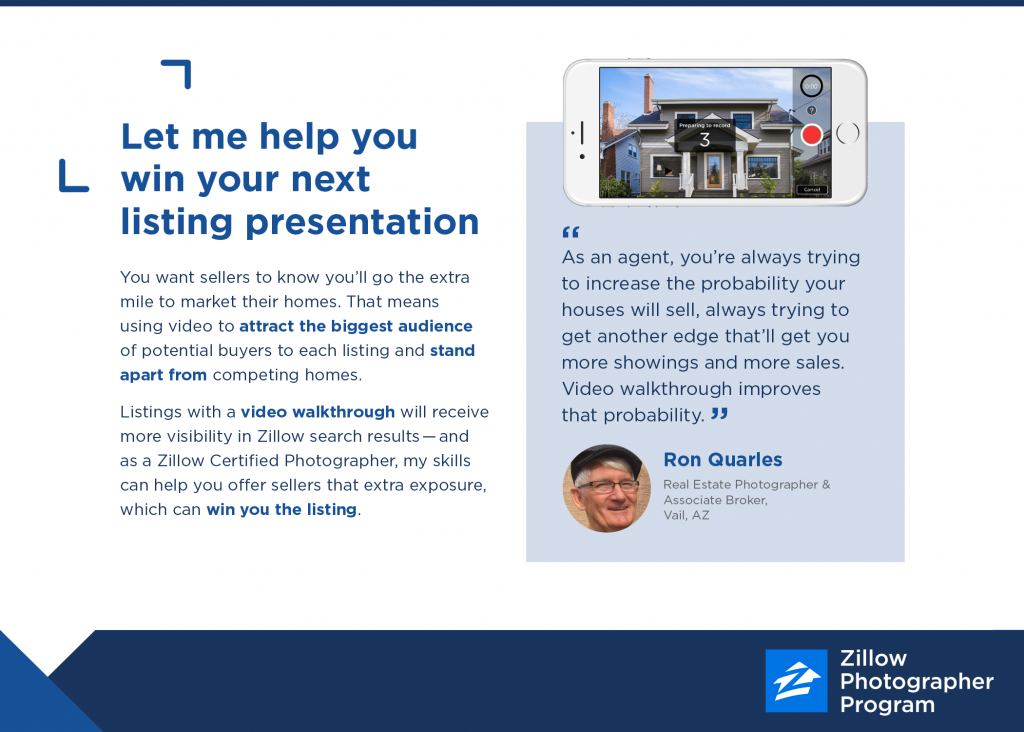 Real Estate Photography Marketing | Zillow Photographer Program