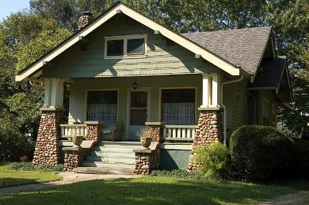 Bungalows Are A Type Of Small Craftsman Home And Typically Have Low Pitched  Gabled Roofs With Wide Overhangs. Bungalows Are Typically 1 To 1.5 Stories.