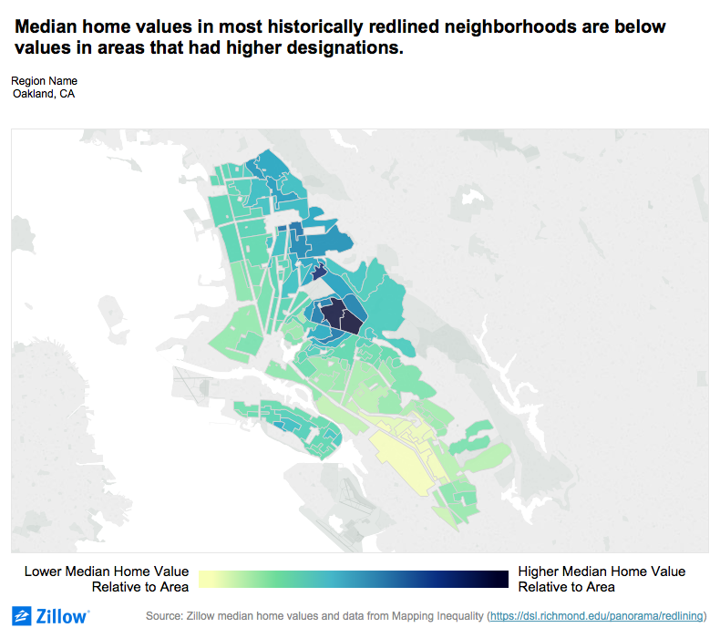 Home Values Remain Low in Vast Majority of Formerly Redlined