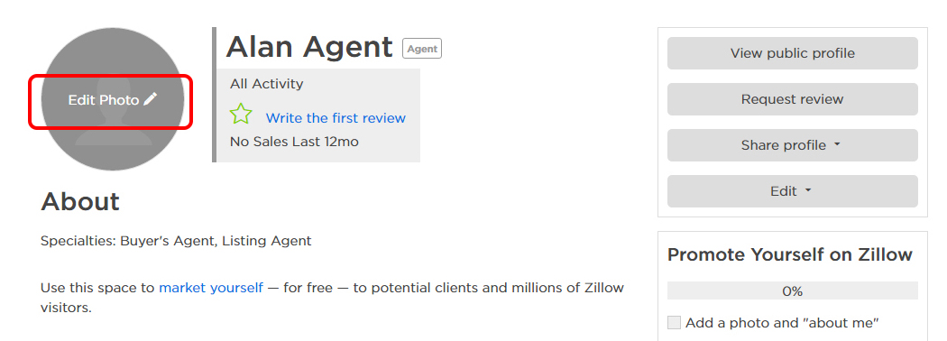 Create a Free Agent Profile in 7 Easy Steps   Zillow Premier