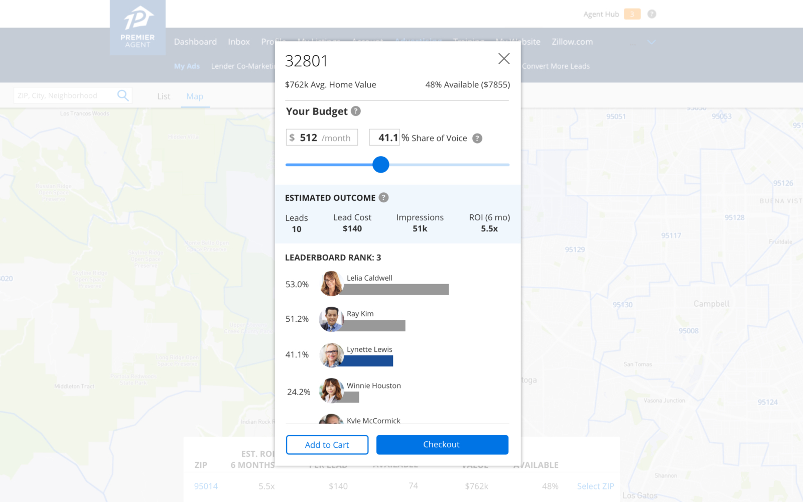 Manage Your Advertising on Zillow | Premier Agent Resource Center