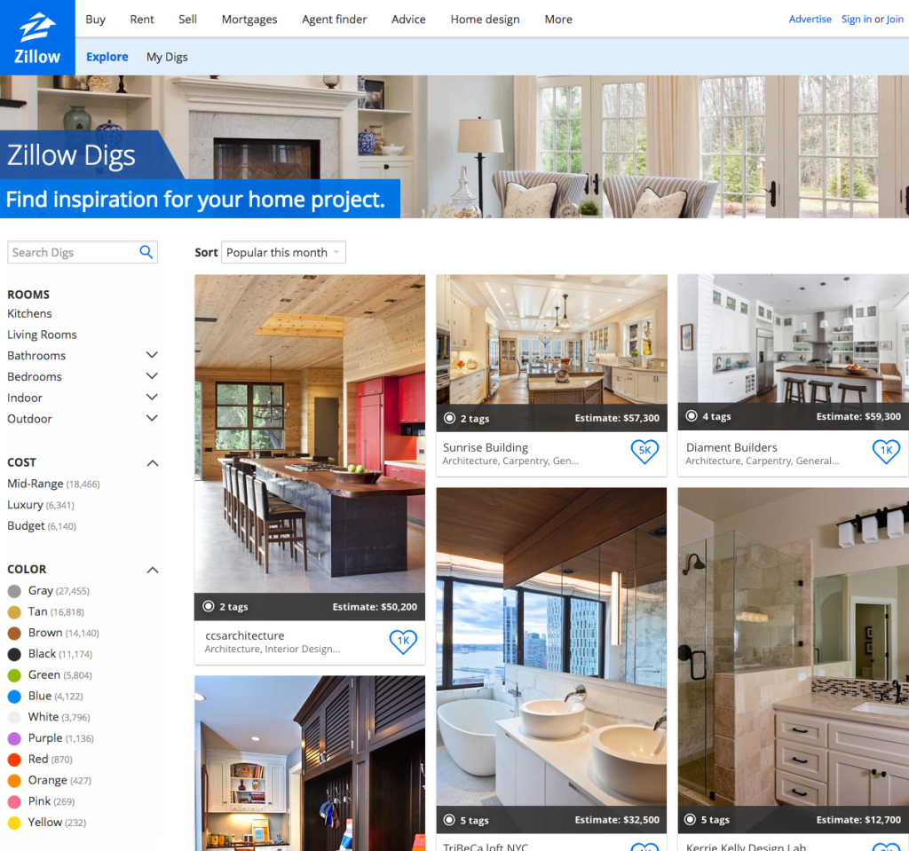 Zillow Digs: 6 Fresh Ideas for Ening Your Clients ... on zillow digs fireplaces, zillow digs bathroom, zillow digs dining room,
