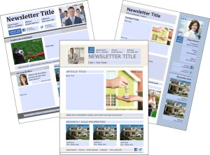 free real estate download newsletter templates premier agent
