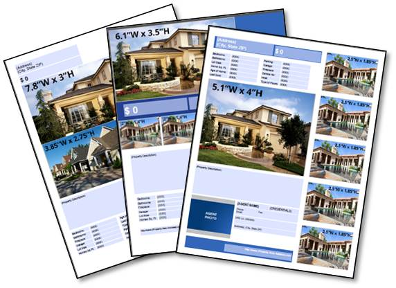 free real estate download listing flyer templates premier agent