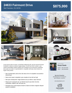 Free Download: Real Estate Flyer Templates | Zillow Premier