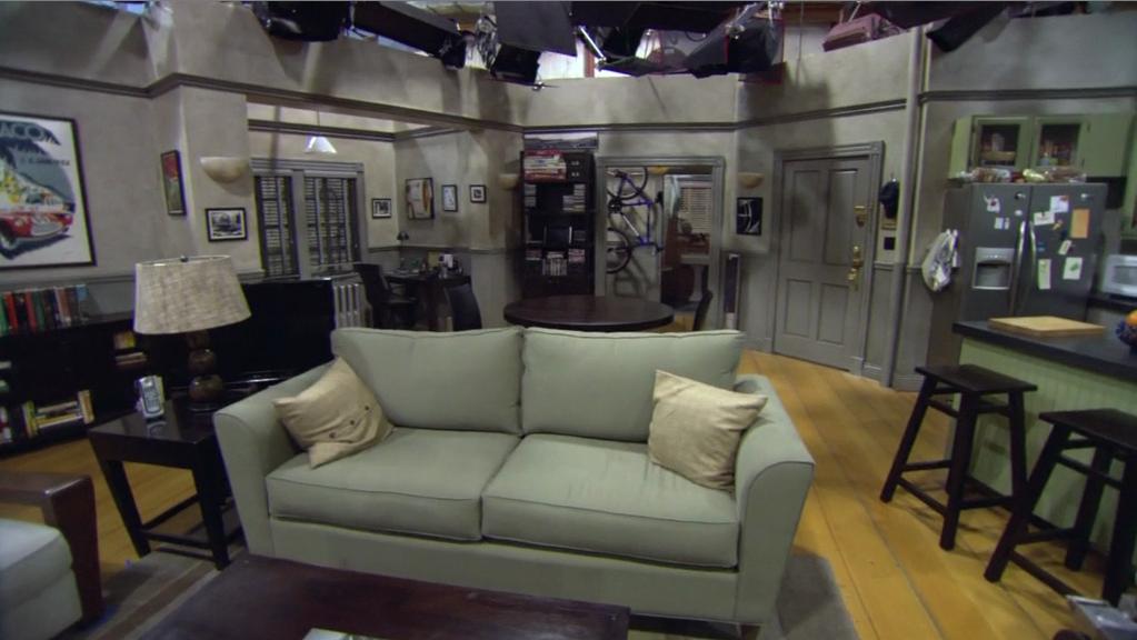 Living Room Of Seinfeld Apartment