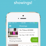 App detail: Keep track of past and upcoming showings!