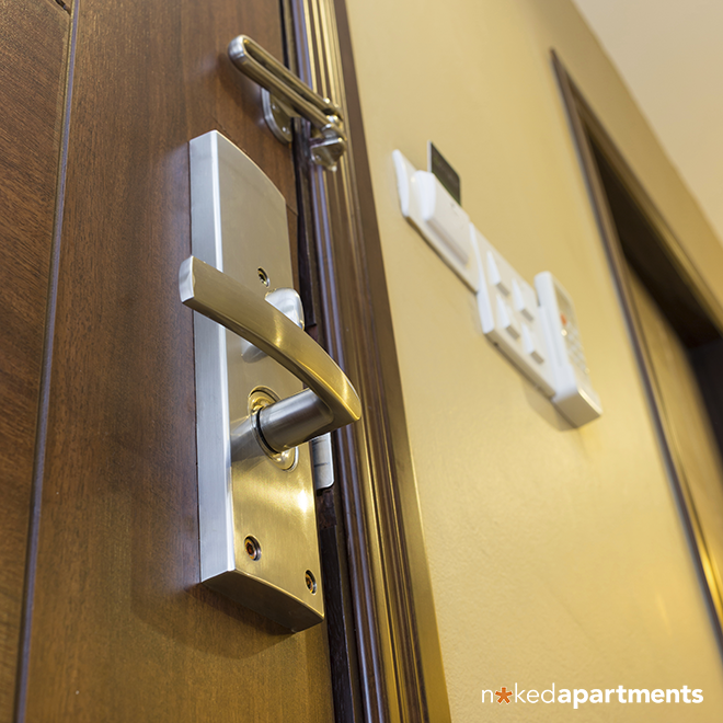 Checking An Apartment\'s Safety: It Starts With The Door