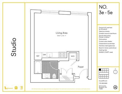 Image of 94 N3rd Street Williamsburg studio