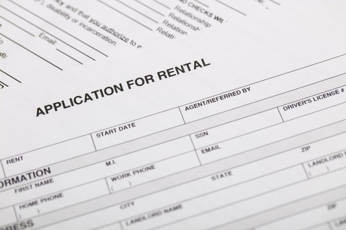 rental application nyc