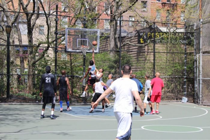 Image of free sporting Events NYC West 4th Basketball Courts