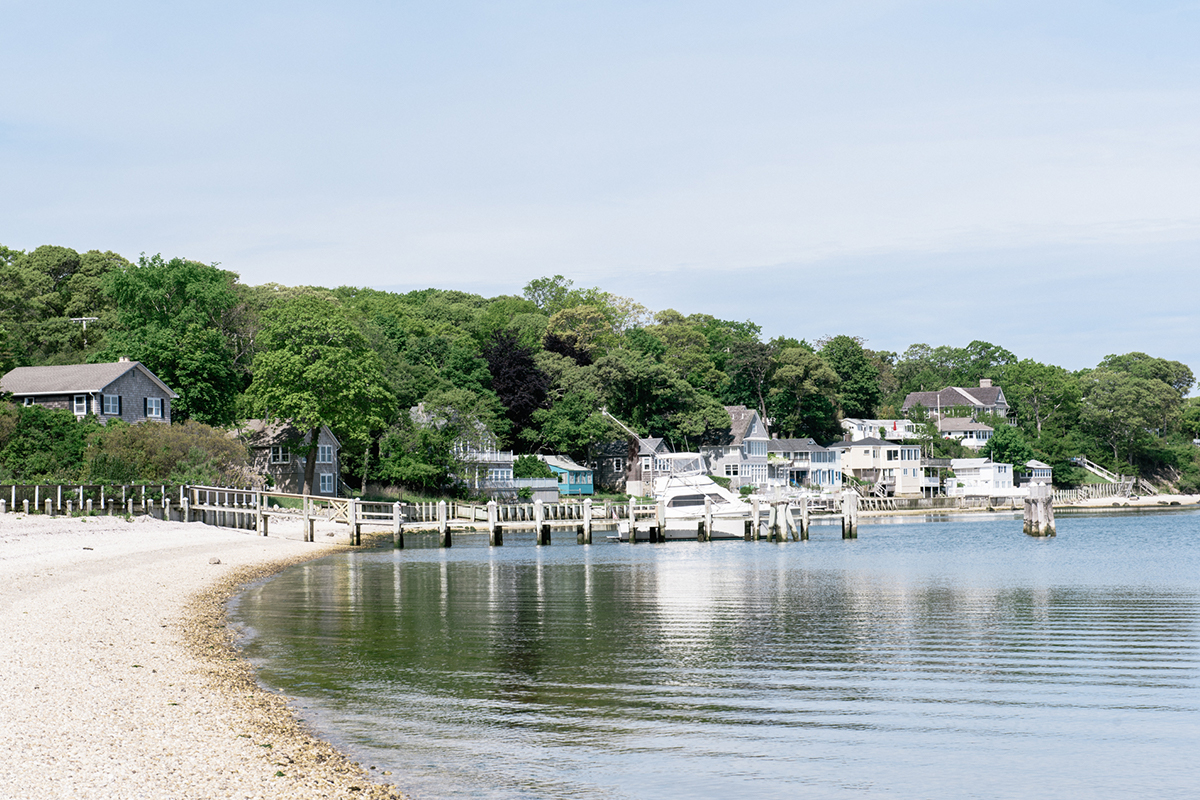 image of Foster Memorial Beach in Sag Harbor