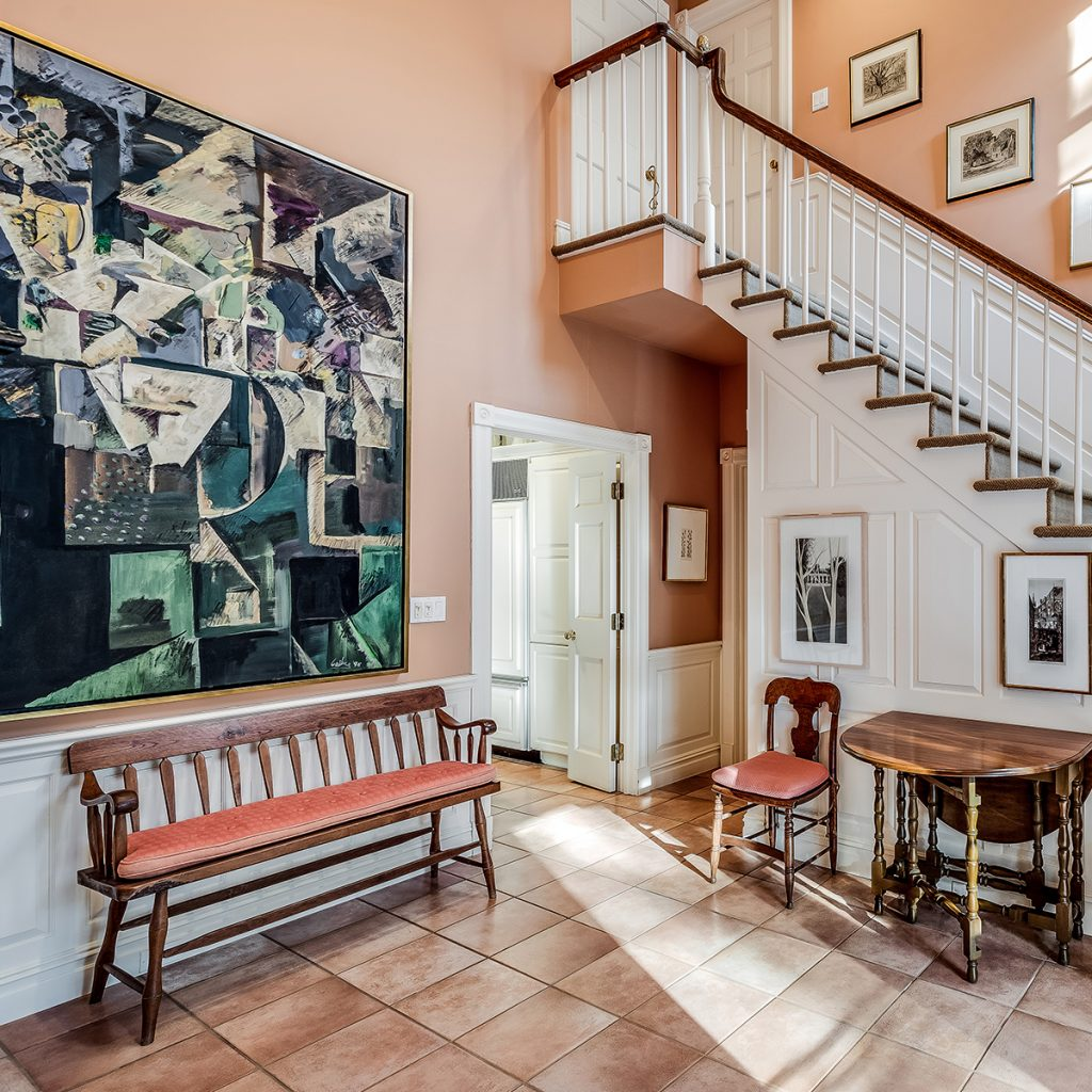 image of judith leiber house foyer