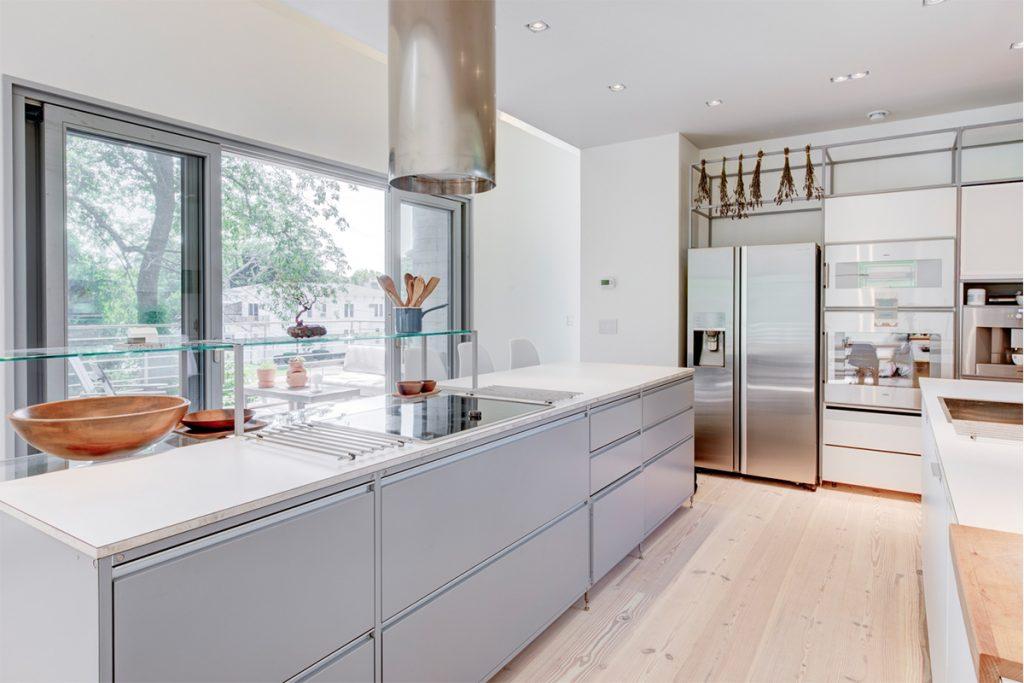 image of greenport passive house kitchen