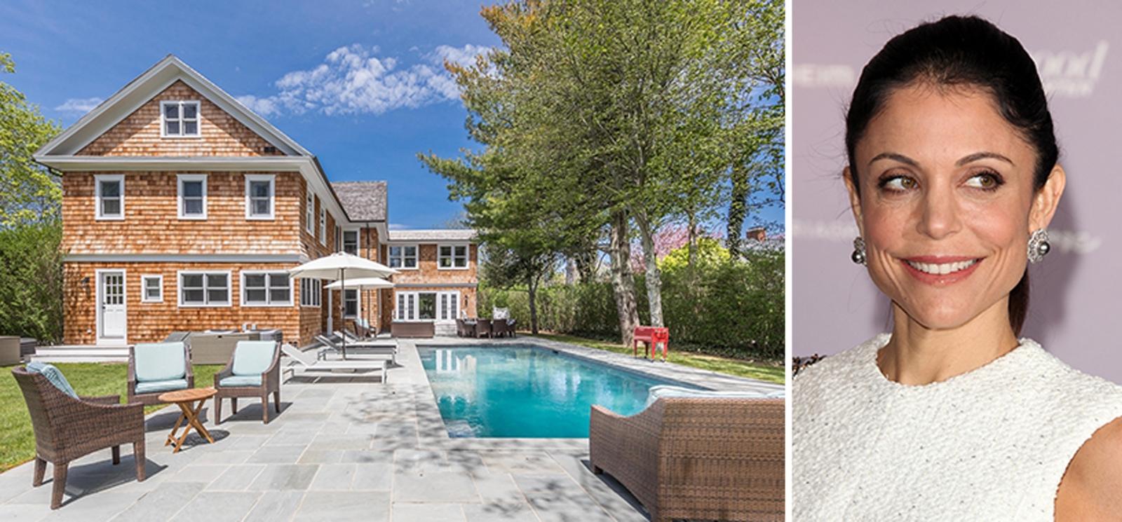 image of bethenny frankel Hamptons house