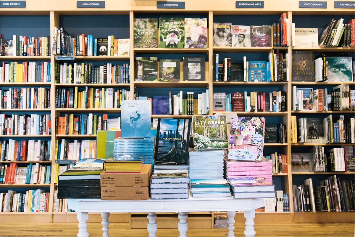 Interior of BookHampton