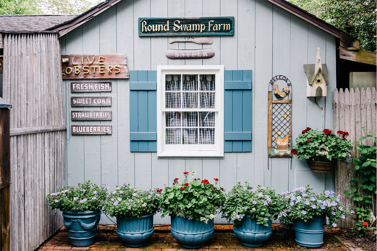 image of round swamp farms best farm stand in the hamptons