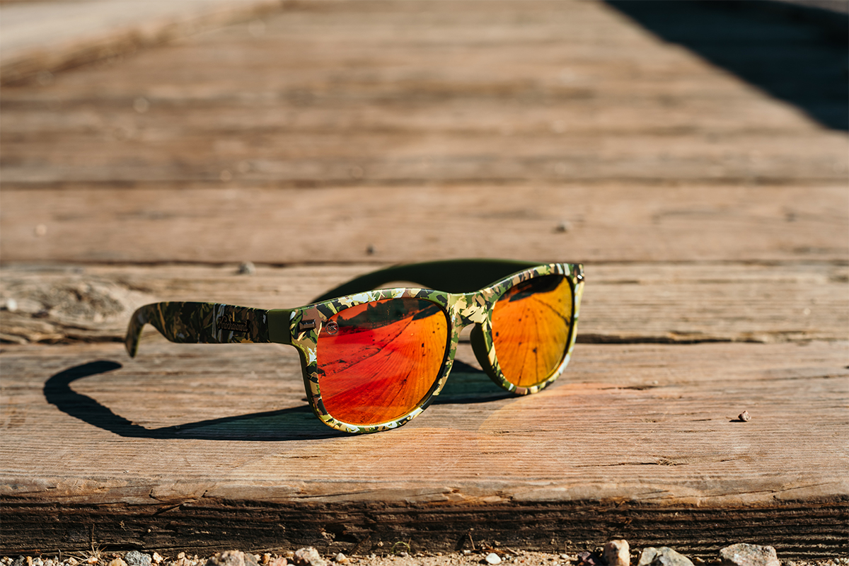 Knockaround Hunter Green sunglasses