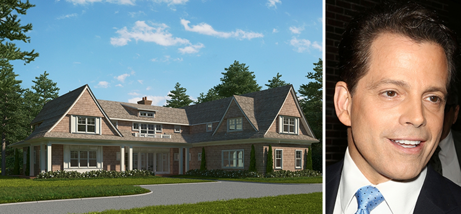 image of anthony scaramucci water mill house hamptons