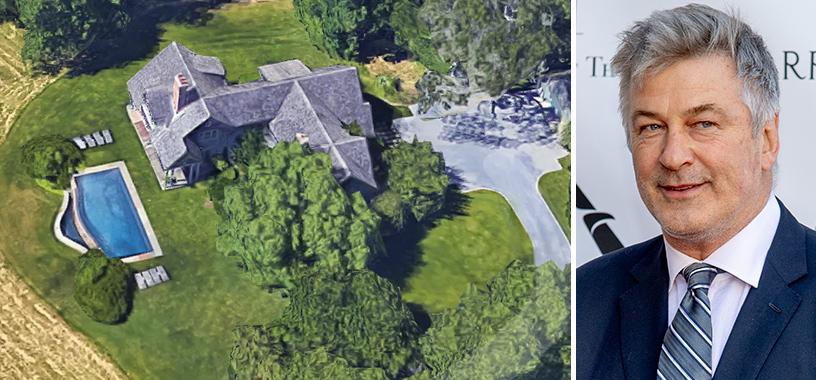 image of alec baldwin house east hampton
