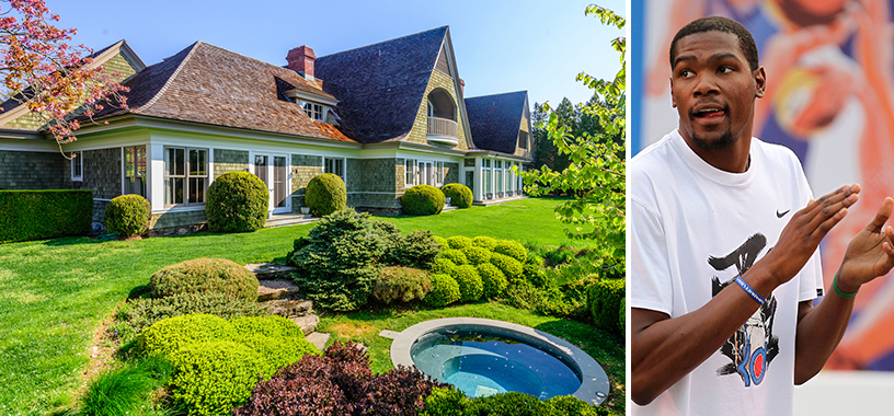 Hamptons 5 House Rented By Nba Star Kevin Durant Sells For 13 6m