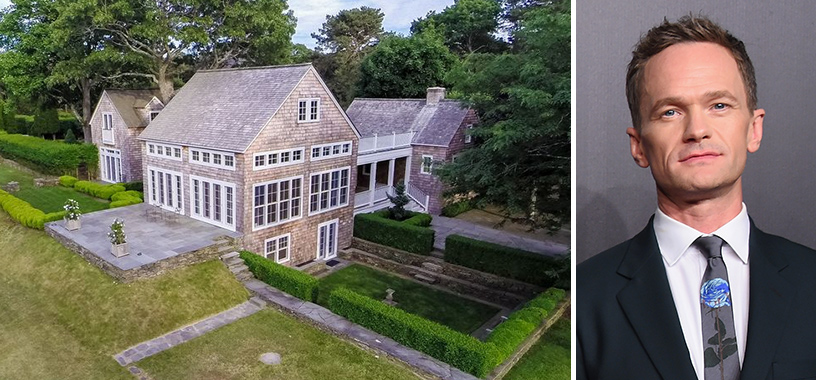 image of neil patrick harris east hampton house